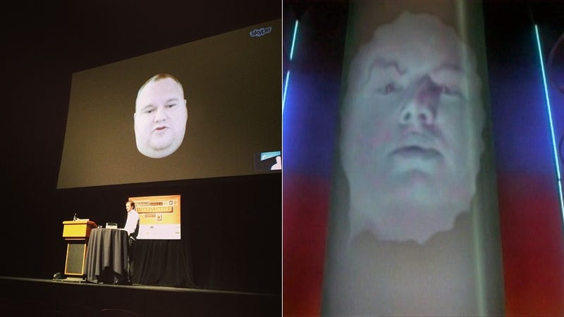 Holy Crap, Is Zordon Speaking at SXSW? (No, It's Just Kim Dotcom)