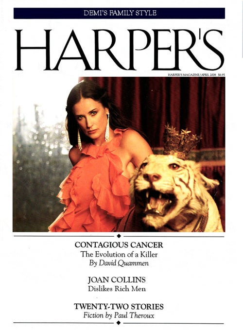 The Harper's (Bazaar) Index: The Couture Economy, Demi Moore, & Joan Collins' Issue With Rich Guys