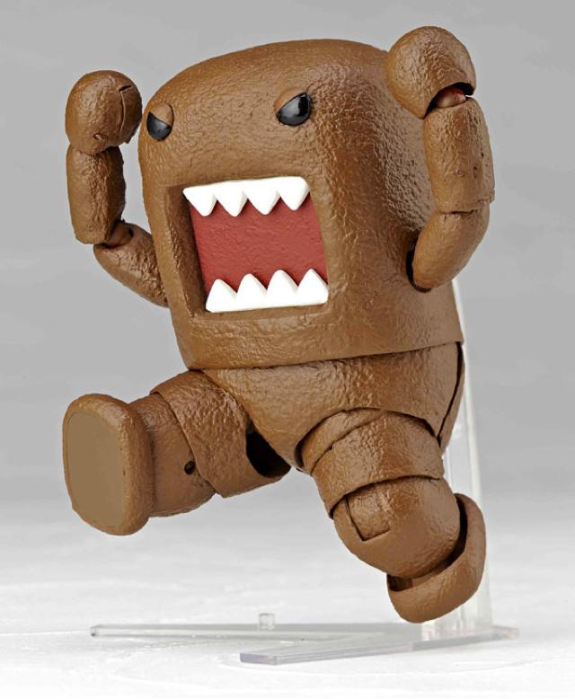 New Domo-kun Figure Looks Like a Turd