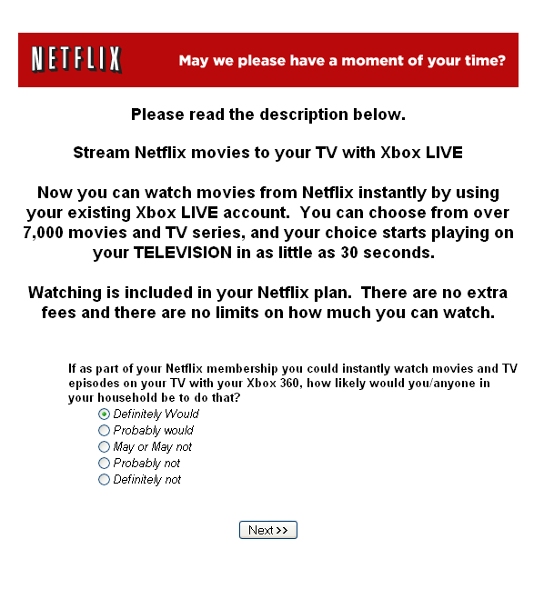Netflix Movie Streaming Coming to Xbox 360 and PS3?