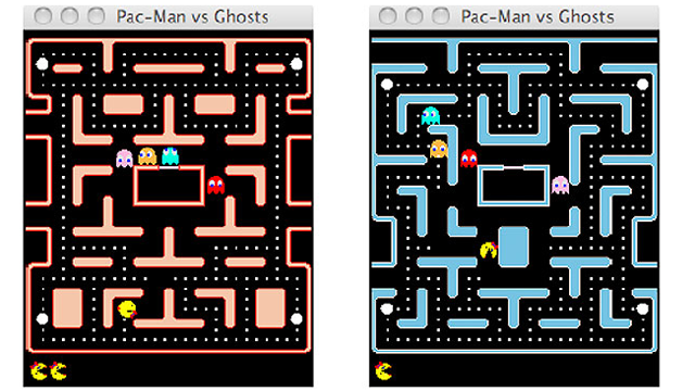 AI Programs Do Battle in Ms Pac-Man