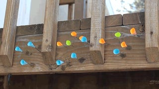 How to make a laser-guided blowgun using household objects