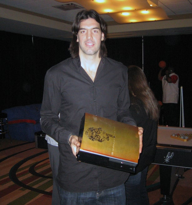 NBA All Stars and Their Custom PS3s