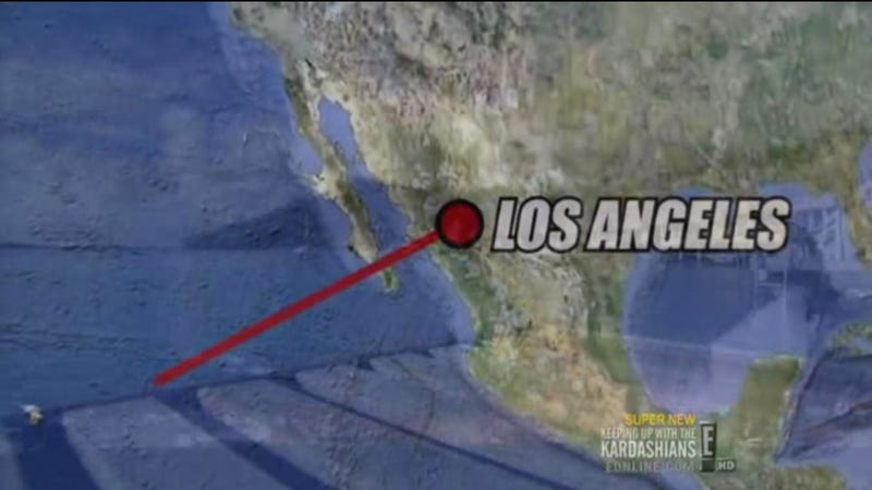 The Kardashians Just Can't Keep Up With Where Los Angeles Is Located
