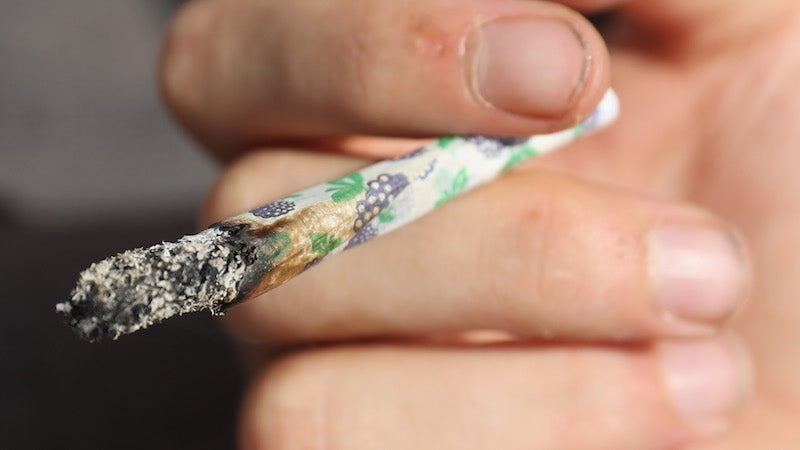 The DEA Says Weed Should Stay Illegal Because If You Smoke It You'll Get Arrested
