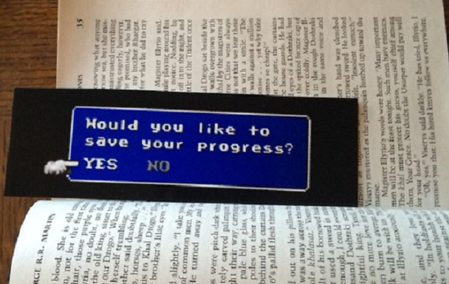 Final Fantasy-Inspired Bookmark
