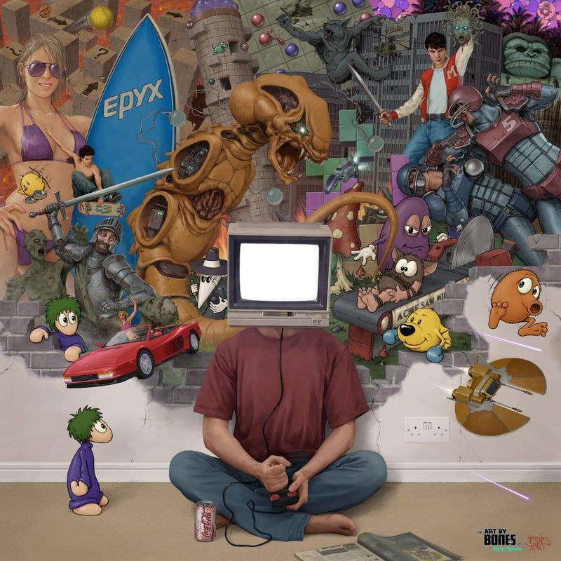 The Amazing Nerd Art of Andrew Jones