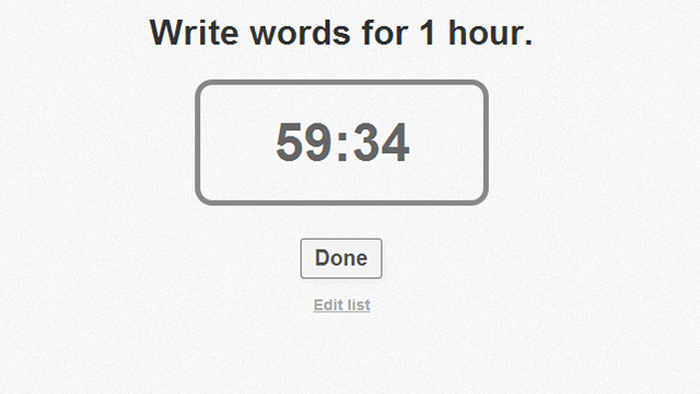 NowDoThis Sets a Timer for Your To-Do List, One Task at a Time