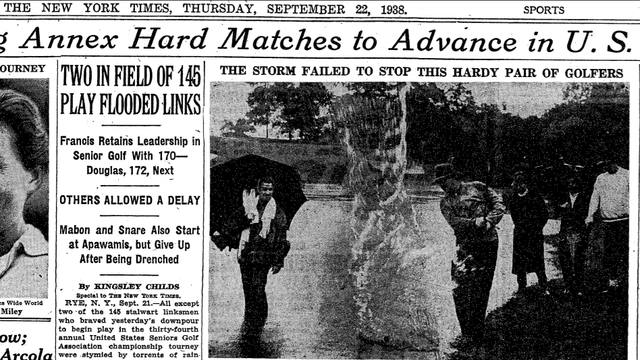 In 1938, The Dumbass Hurricane Bros Were Badass Senior Golfers