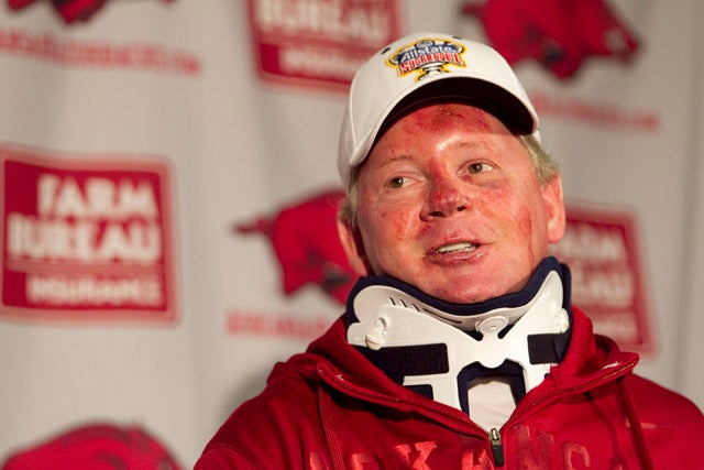 "Bobby Petrino Admits Having ""Inappropriate Relationship,"" Placed On Paid Administrative Leave"
