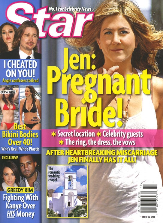 This Week In Tabloids: Jen Aniston's Big Fat Greek Wedding