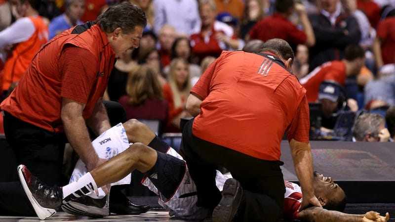Doctors Say Kevin Ware's Injury May Have Been Exacerbated By Undetected Stress Fractures