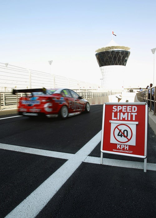 There's No Speed Limit In Abu Dhabi