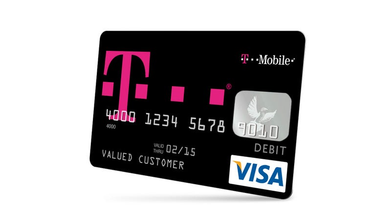 T-Mobile's Mobile Money Service: Prepaid Visa, No-Fee Checking
