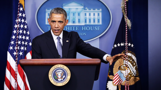 ​Obama Only Took Women Reporters' Questions at Year-End P