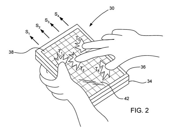 Apple Now Has a Patent on Their Capacitive Multitouch Displays