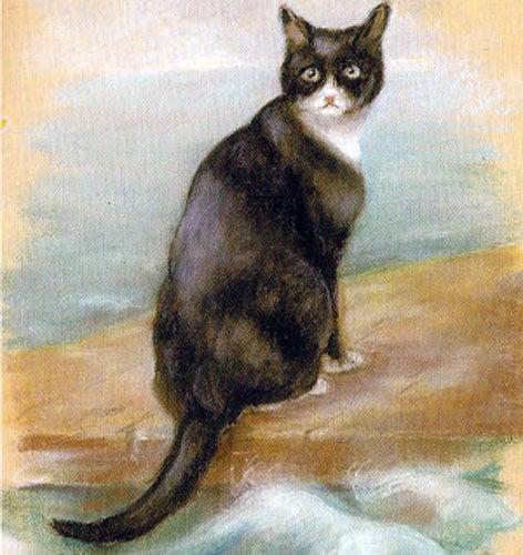 La leyenda de Oscar, el gato que sobrevivió a tres naufragios y una guerra mundial