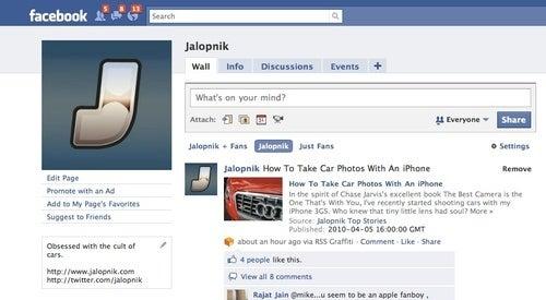 Follow Jalopnik On Facebook, Win Fabulous Prizes