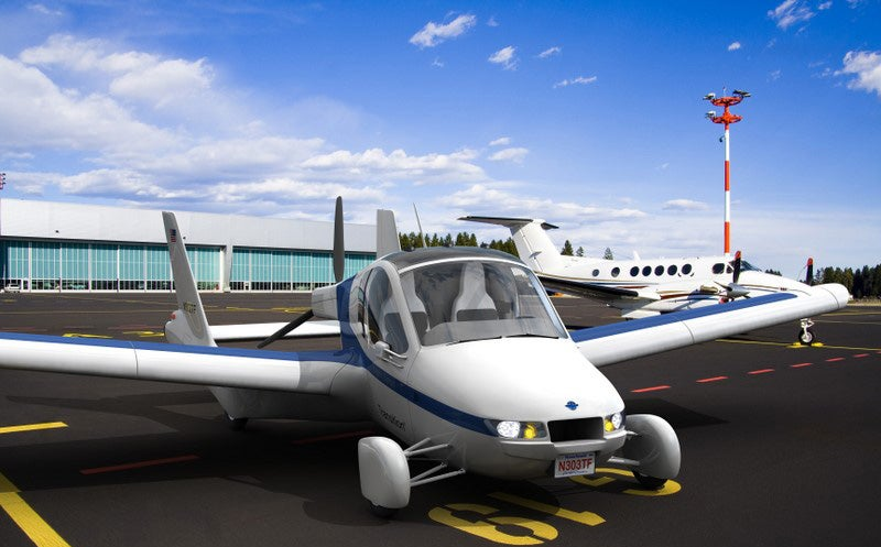 Terrafugia Transition Flying Car: First Renders