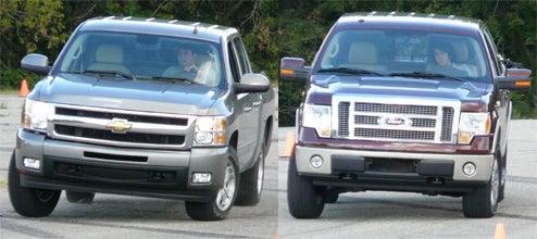 Jalopnik 2009 Pickup Truck Comparison Challenge: Auto Cross
