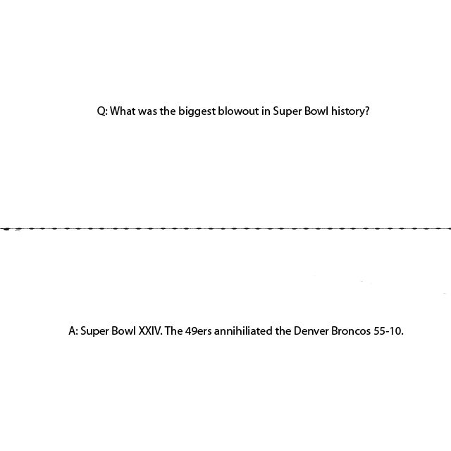 Use These Friday Night Flash Cards to Drop Some Knowledge on Super Bowl Sunday