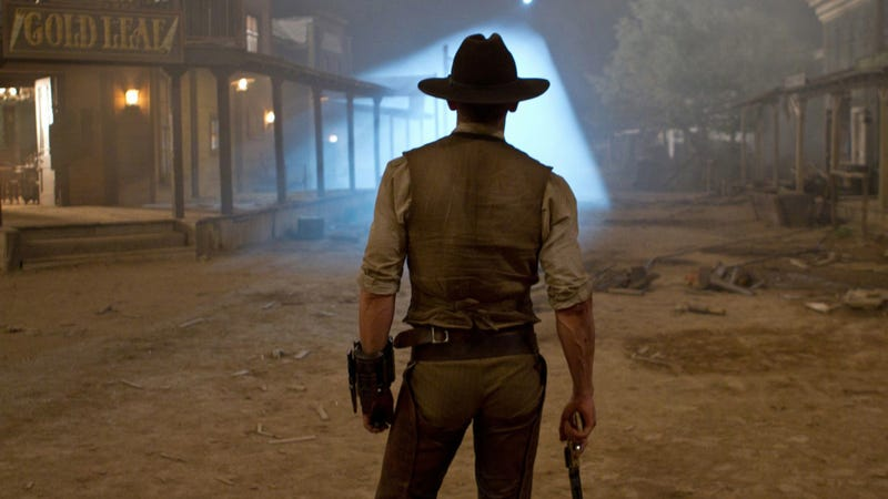 We've seen THE ALIENS from Jon Favreau's Cowboys & Aliens