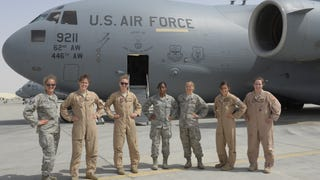 This All Female C-17 Crew Gets It Done During Exercise Eager Lion