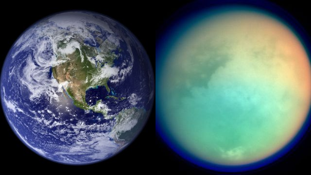 Earth's atmosphere has repeatedly been choked in a thick methane haze