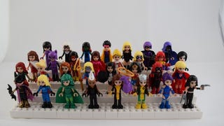 Artist turns Lego's 'Friends' dolls into badass superheroines