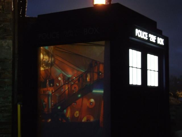 First Glimpse Of Doctor Who's New TARDIS Interior