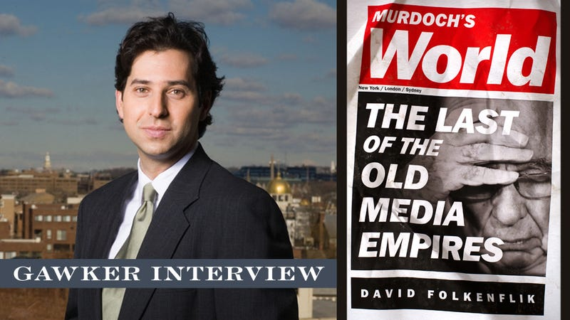 Come Chat with Rupert Murdoch's Unauthorized Biographer