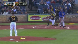 Cubs-Pirates Delayed By Woman Ge