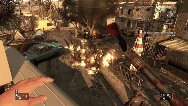 Почему персонаж в игре dying light не ходит