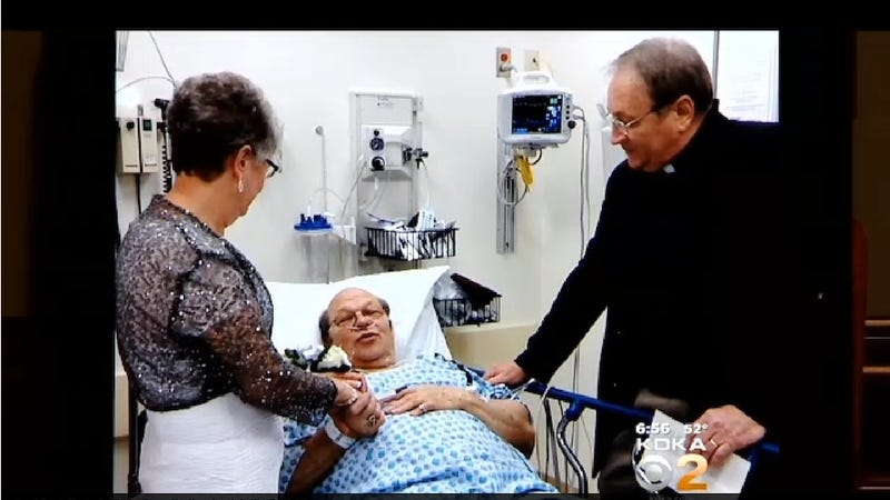 Couple Marries in the ER After Groom Has a Heart Attack