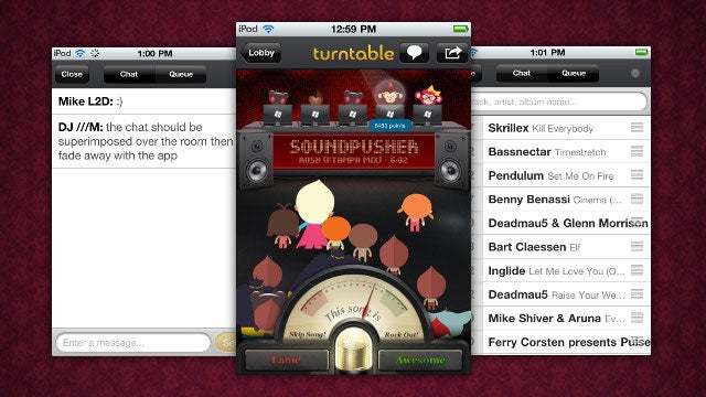 Turntable.fm Brings Awesome Collaborative Playlist Creation & Music Discovery to the iPhone