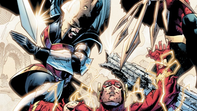 What's up with DC Comics' dystopian reality series Flashpoint? Geoff Johns gives us hints