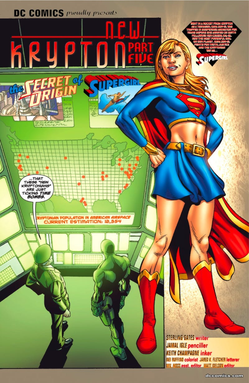 The Army And Mom And Dad Hate Supergirl