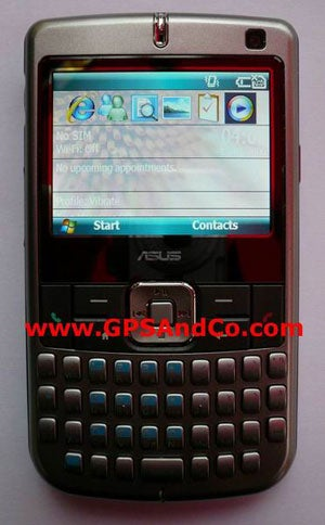 Asus 3G P3xx Rocks Windows Mobile 6, Wi-Fi, Roomy Screen