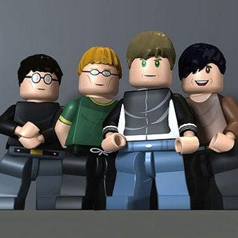 Lego Rock Band Is Amazingly Blurry