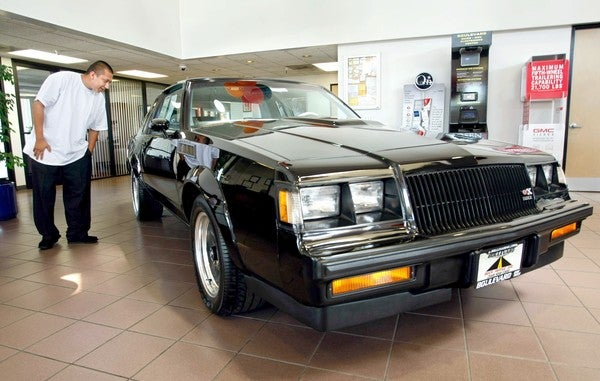 How A Brand-New Buick GNX Still Sits In A Dealer Showroom