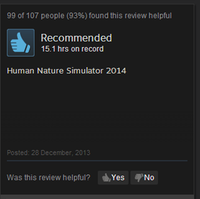 DayZ, As Told By Steam Reviews