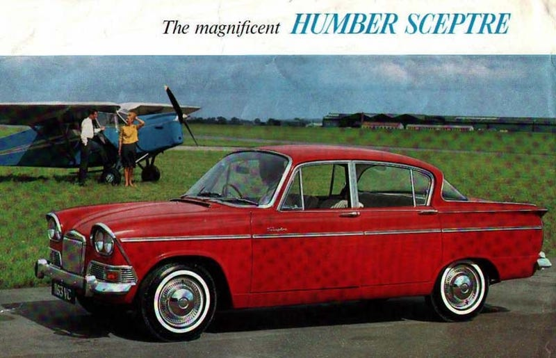 PCH, What The Hell IS That Thing Edition: Humber Sceptre or Simca Aronde?