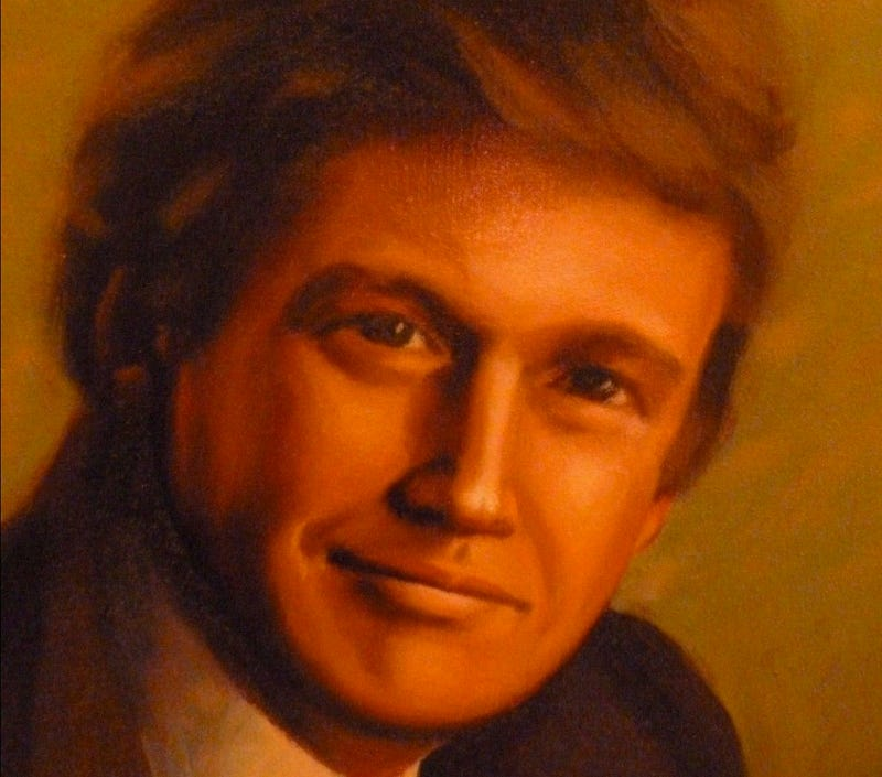 eBay Is a Waking Nightmare of Amateur Trump Art