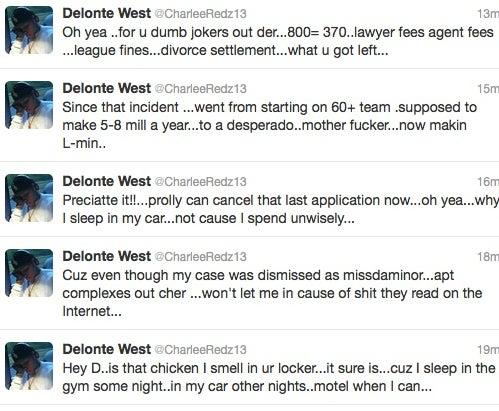 Delonte West Had A Twitter Meltdown
