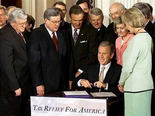 Democrats Folding on Bush Tax Cuts, Again?