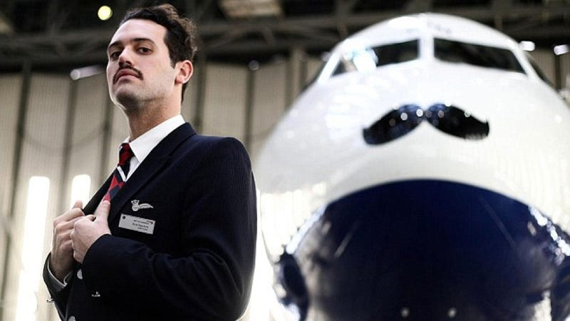 Passenger Jets Are Wearing Mustaches For Prostate And Testicular Cancer Research