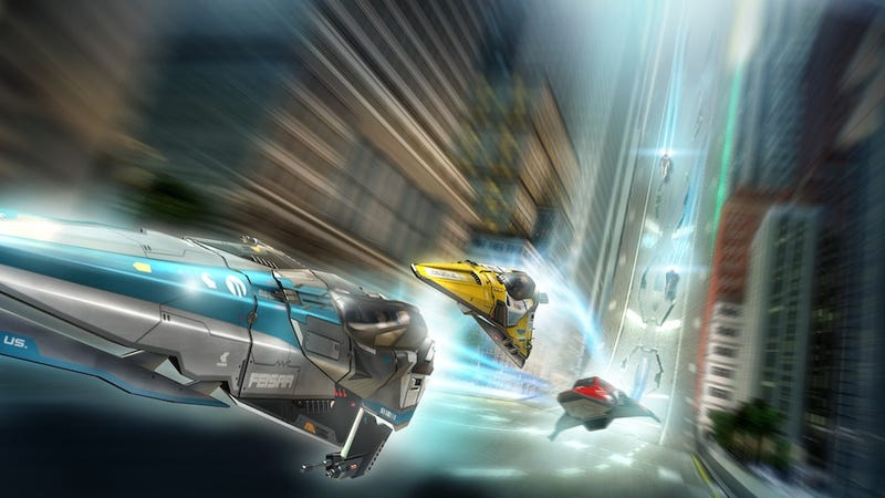 Wipeout 2048 Delivers Voice Control, PS3 Competition to the NGP