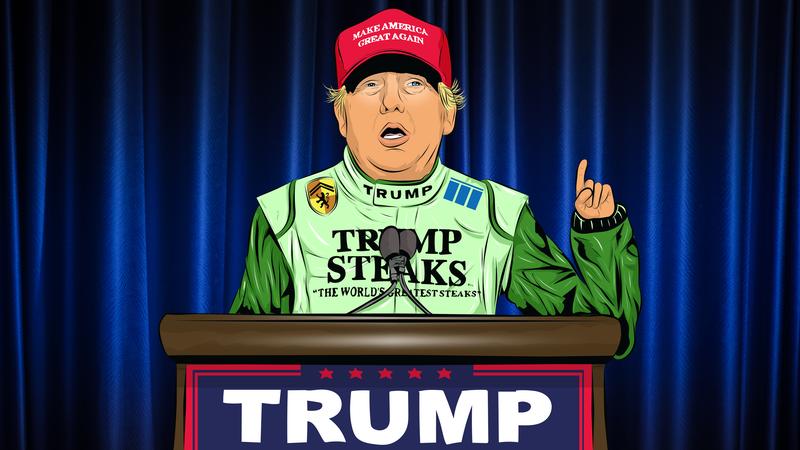 NASCAR's Donald Trump Problem