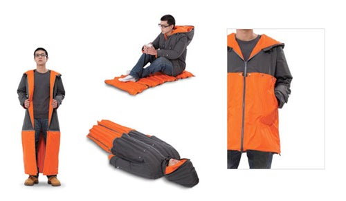 The Inflatable Sleeping Coat Could Solve a Lot of Problems
