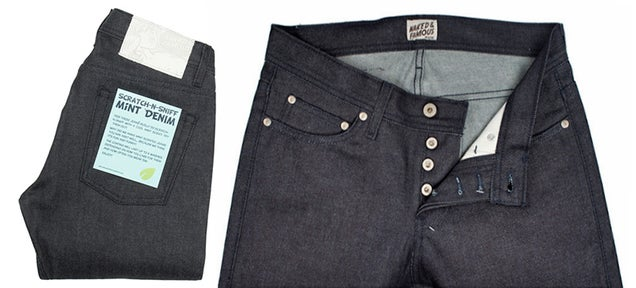 Scratch-N-Sniff Jeans Always Smell Minty Fresh Even If You Don't
